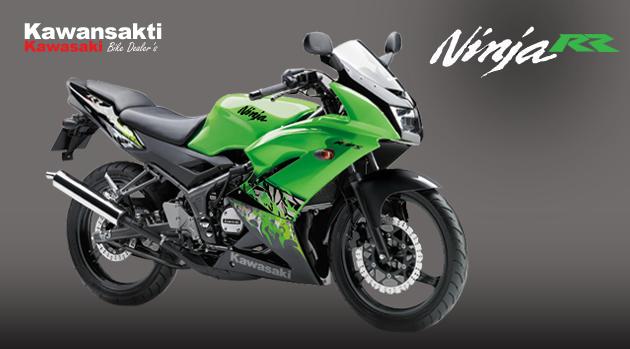 Kawasaki Ninja 150 RR - Harga Kredit Motor Murah